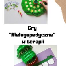 Nielogopedyczne gry, które wykorzystasz w terapii.